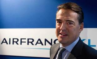 Alexandre de Juniac, PDG d'Air France, le 8 mars 2012.