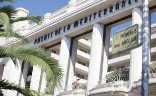 L'hôtel Palais de la Méditerranée, le 16 août 2013 à Nice