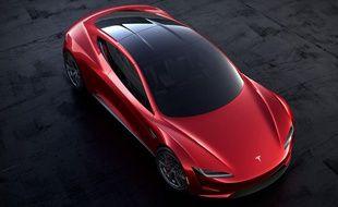 Le nouveau Tesla Roadster proposera en option un « pack Space X ».