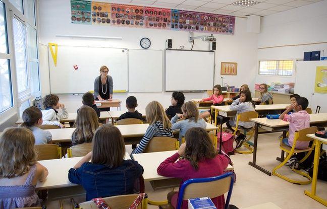 Illustration de la rentrée scolaire en école élementaire.