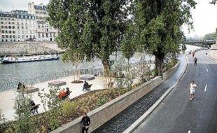 L'homme a été interpellé lundi soir sur les berges de Seine alors qu'il était en train d'agresser une joggeuse.
