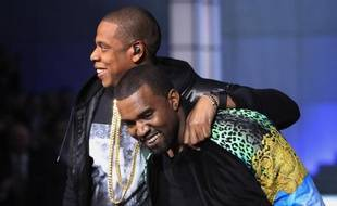 Kanye West et Jay-Z, le 10 novembre 2011.