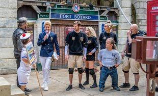 Le métro, une nouvelle épreuve de « Fort Boyard » 2021