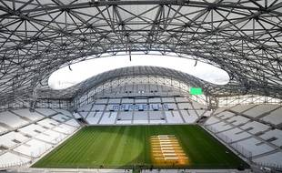 Le stade Vélodrome à Marseille