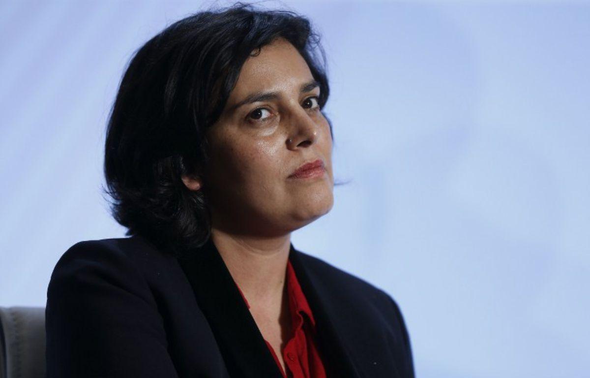 La ministre du Travail Myriam El Khomri, le 3 février 2016 à Paris. – THOMAS SAMSON / AFP