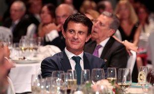 Manuel Valls à Barcelone le 15 octobre 2018