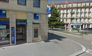L'agence Banque Populaire de la place Fourneyron, à Saint-Étienne