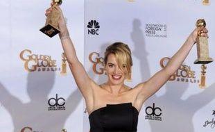Kate Winslet aux Golden Globes, le 11 janvier 2009
