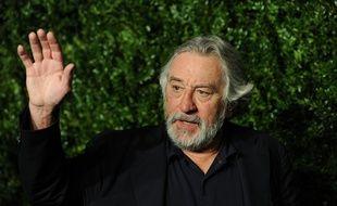 Le comédien Robert De Niro à son arrivée au festival de Tribeca, à New York
