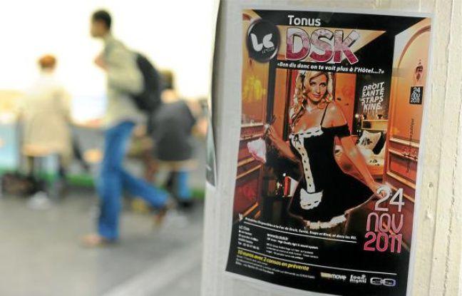 L'affiche «tend à banaliser des clichés sexistes et datés», selon les syndicats.