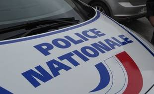 Une voiture de la police nationale (Illustration).