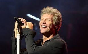 Le chanteur Jon Bon Jovi