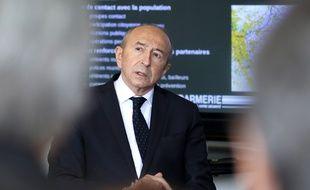 Le ministre de l'Intérieur Gérard Collomb, le 9 mars 2018.