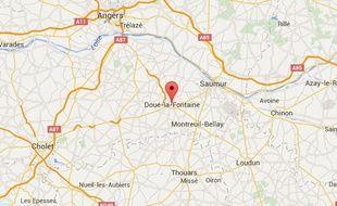 Le drame s'est déroulé à Doué-la-Fontaine samedi soir.