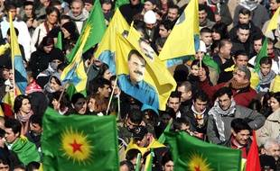 Déjà en 2006, des milliers de Kurdes s'étaient donné rendez-vous à Strasbourg, siège du parlement européen.