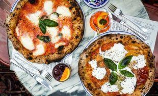 Les pizzas de La Felicita