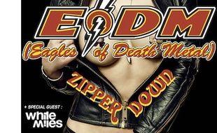 L'affiche du groupe Eagles Of Death Metal.