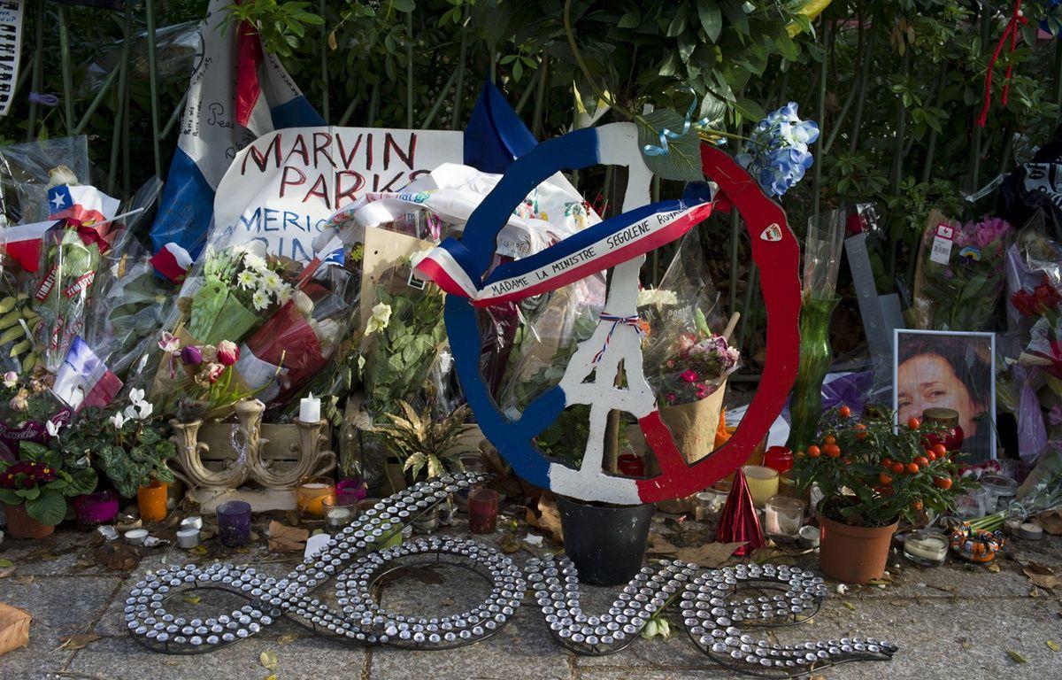 Hommages aux victimes de l'attentat du Bataclan. Boulevard Voltaire, Paris, FRANCE.  – SIPA