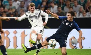 Allemagne-France: Benjamin Pavard