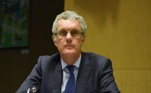 Jacques Rivoal, président de Volkswagen France, lors de son audition à l'Assemblée nationale, le 9 février 2016.