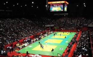 La salle de Bercy lors du tournoi de Paris, en février 2010.