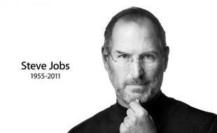 La page du site Apple.com rend hommage à Steve Jobs, dont le décès a été annoncé le 5 octobre 2011.