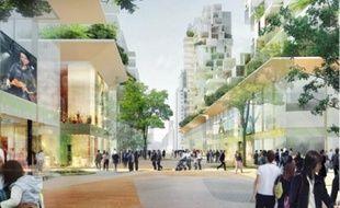 Des logements et 20 000 m2 de commerces seront construits sur l'avenue Barbusse.