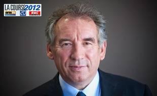 Le 15 septembre 2011. Francois Bayrou en interview au quotidien 20 Minutes.