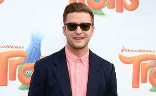 Justin Timberlake à l'avant-première de Trolls