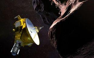 Le vaisseau New Horizons rencontrant la MU69 2014 - surnommée «Ultima Thule» - un objet de la ceinture de Kuiper qui gravite autour d'un milliard de milles au-delà de Pluton. Crédit:HO / NASA/JHUAPL/SwRI / AFP.