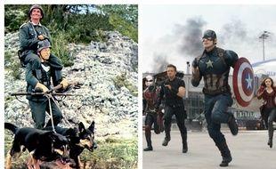 «La grande vadrouille» plus forte que «Captain America: Civil War» dimanche soir.