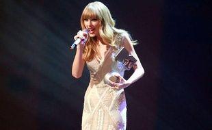 Taylor Swift aux MTV Europe Music Awards 2012 à Francfort en Allemagne.