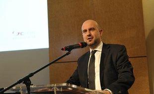 Eric Verhaeghe, ancien directeur de l'Apec, lors du forum Mixité-Diversité dans l'assurance (18 mars 2010), organisé par la FFSA,  le GEMA et les partenaires sociaux du secteur.