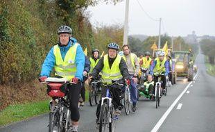 Des cyclistes et tracteurs avait déjà relié Notre-Dame-des-Landes à Paris en novembre 2011