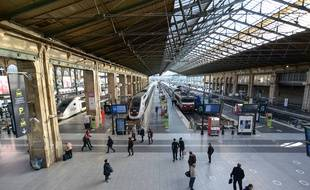La gare du Nord, à Paris.