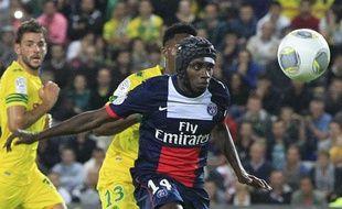Nantes, le 25 août 2013 - Blaise MATUIDI (PSG) lors du match contre le FC Nantes
