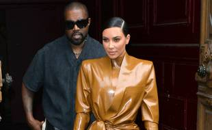 Les ex-époux Kanye West et Kim Kardashian