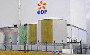 Le site de Fessenheim, la doyenne des centrales nucléaires françaises.