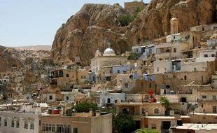 Le village chrétien de Maaloula où des religieuses ont été prises en otage par les rebelles