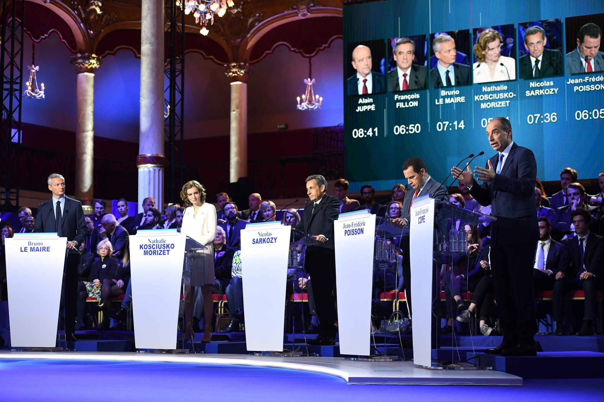 deuxieme debat primaire droite