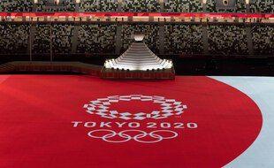 La cérémonie d'ouverture des JO de Tokyo 2021.