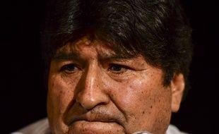 Evo Morales, le 17 décembre 2019 à Buenos Aires en Argentine.