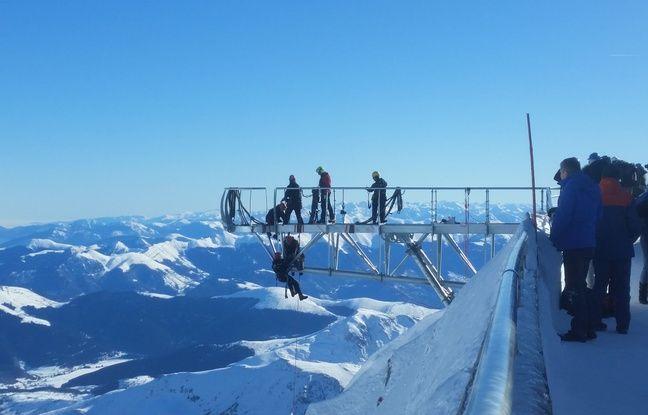 Ponton du ciel au Pic du Midi.