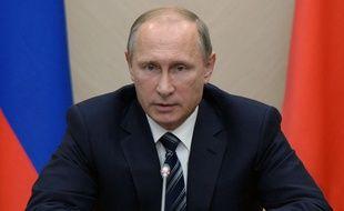 Le président russe Vladimir Poutine, le 30 septembre 2015 à New York.