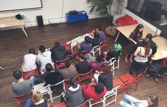 Le 11 juin, lors de la rencontre entre les professeurs et les élèves, à l'occasion de la pré-rentrée de Thot.
