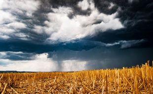 Illustration d'un orage. Ici, en Bourgogne, début juillet.