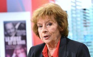 La journaliste Michèle Cotta, sur le plateau de LCI, le 24 octobre 2012.