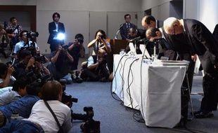 Les dirigeants de l'équipementier japonais Takata ont présenté leurs excuses le 25 juin 2015 devant les actionnaires