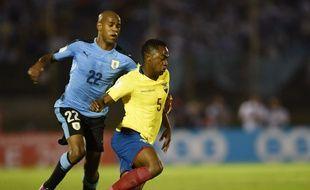 Depuis 2014, l'attaquant a disputé 23 matchs avec la sélection uruguayenne