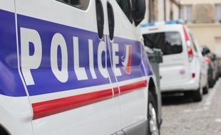 Illustration d'un véhicule de police, (ici à Rennes.